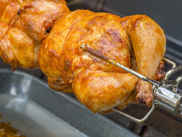 Les poulets des rôtisseurs